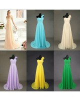 бална сватбена рокля в различни нежни гами