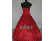 обемна богато декорирана бална рокля в 3 гами