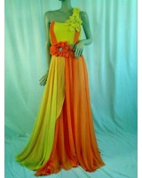 висококачествена официална рокля със слънчев дизайн