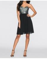 официална рокля със сияещ дизайн лимитирана серия