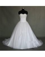 ултра обемна булчинска сватбена рокля с бюстие супер хит