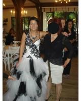 дамска вечерна сватбена абитуриентска рокля 34-44
