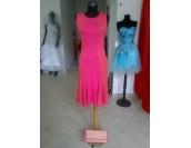 комфортна рокля в 2 гами с цип