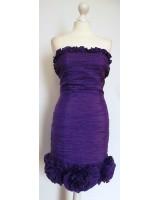 официална рокля в наситено лилаво