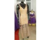 ултра сияеща рокля в златиста гама Бални рокли Благоевград 2020