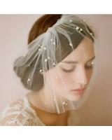 стилно сватбено було с декоративни перли