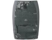 мега сияеща стилна пола с паети