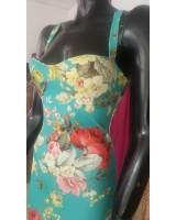 тясна бандажна рокля с гол гръб очертаваща фигурата