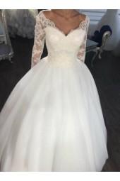 приказна сватбена рокля есен - зима 2020