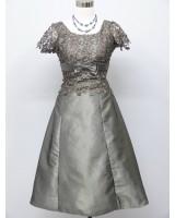 женствена рокля с дантела в стил майка на булката