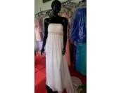 бална рокля с гол гръб и пайети в 3 гами