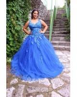 бална абитуриентска сватбена рокля по поръчка