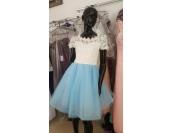 официална бална сватбена шаферска рокля или майка на булката