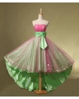 дамска абитуриентска вечерна елегантна рокля